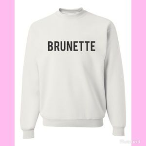 Sweaters - BRUNETTE COZY GRAPHIC SWEATSHIRT S - XL